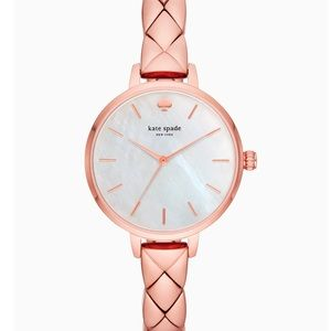 Kate Spade Metro Scallop Rose Gold-Tone Watch
